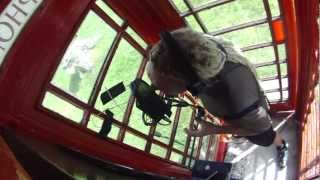 RECORDING A SONG IN A TELEPHONE BOX, Unusual places to record music by Paul Cheese