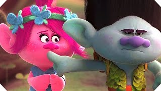 trolls all the movie clips animation 2016