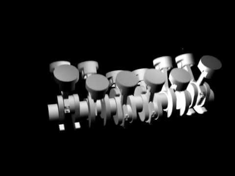 V12 Engine Animation Youtube