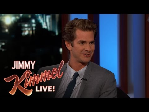 Andrew Garfield on Mel Gibson fragman