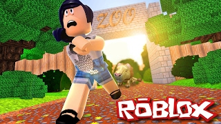 Roblox com Facecam - Animais Malígnos (ft. Úrsula) (Escape The Zoo Obby)