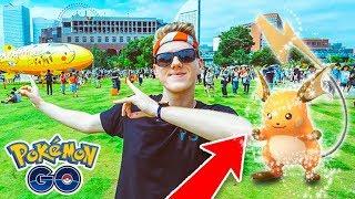 YOU WONT BELIEVE THESE POKEMON SPAWNS + SHINY RAICHU! (Pokemon Go)