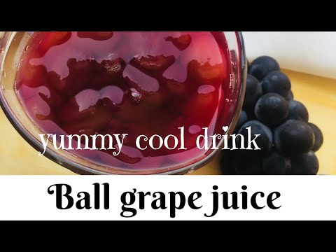 ball grapes juice grape juice with pulp how to make ball grapes