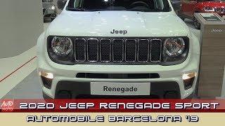 2020 Jeep Renegade Sport - Exterior And Interior - 2019 Automobile Barcelona