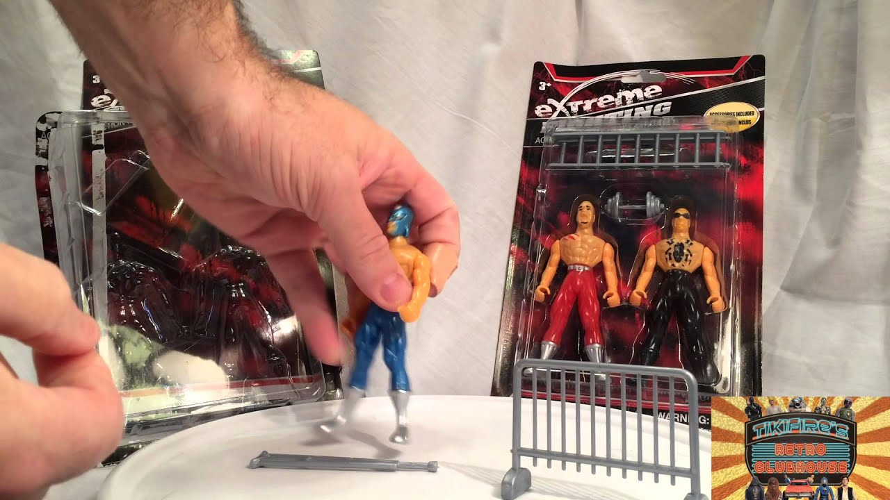 5 Dollar Toys : Extreme fighting wrestling figures part dollar tree i