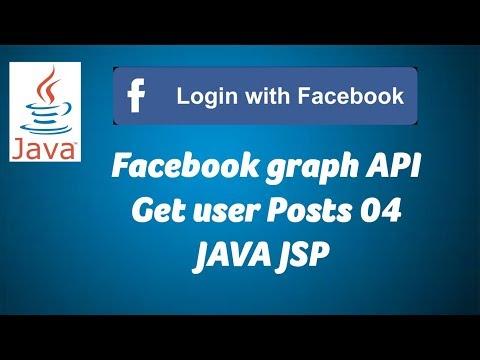 JAVA - Facebook Graph API Get User Posts 04