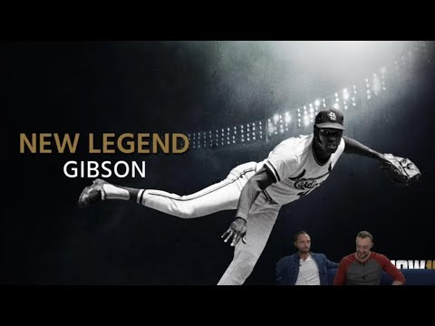 Bob Gibson in MLB The Show 18 (New Legend)