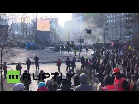 Ukraine:  Protesters and police gear up for more action in Kiev