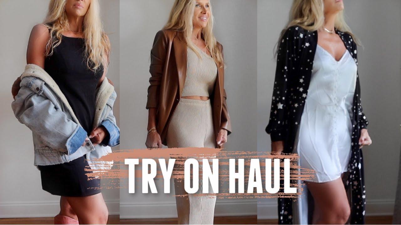 Friday Haul~ FULL TRY ON! MASONgrey  Everlane  Nasty Gal | NEW Rebecca Minkoff Handbag