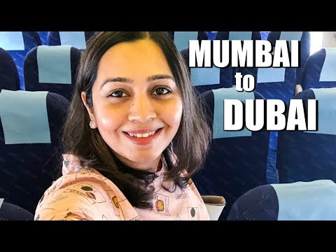 MUMBAI TO DUBAI | Jet Airways Flight Experience