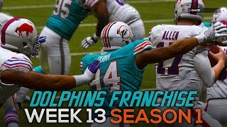 Dolphins Franchise - Week 13 vs. Bills [S1] | Madden 19