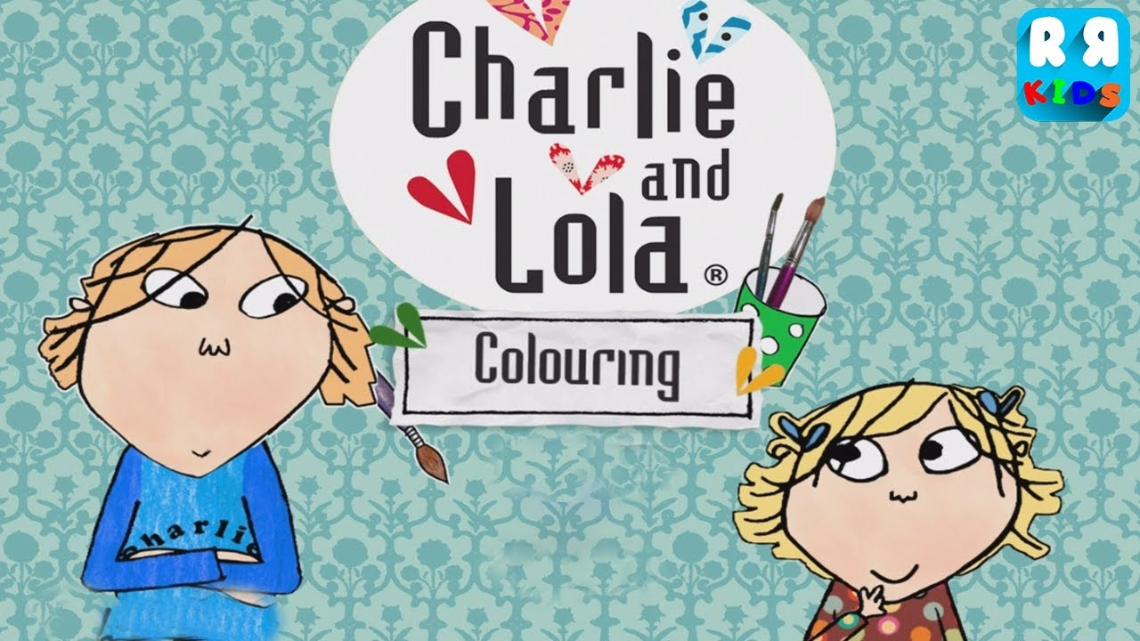 Charlie and Lola Colouring - New Best Coloring App for Kids