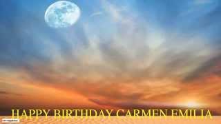 CarmenEmilia Moon La Luna - Happy Birthday