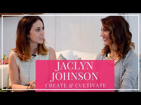 Entrepreneur Interviews | Jaclyn Johnson, Create & Cultivate