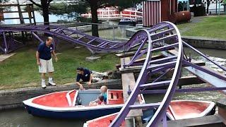 Knoebels 2015 motor boats mishap
