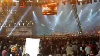 Wrestlemania 26 Closing Pyro / Celebration / Undertaker goes 18-0 / Shawn Michaels Leaves