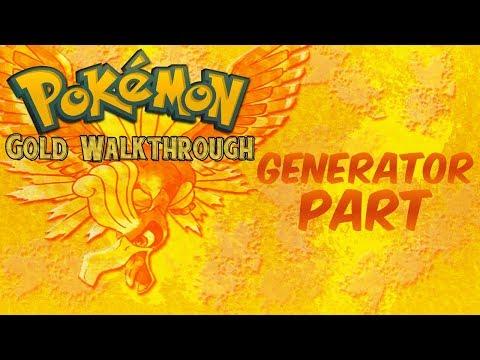 Pokemon Gold Walkthrough Part 39: Generator Part!