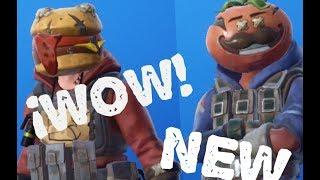 *NEW* tomato and burger / FORTNITE skins