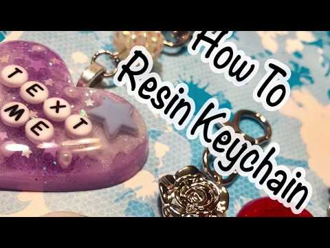 How To Resin Keychain
