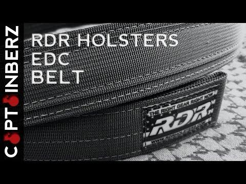 review brown coat tactical edc belt concealed nation