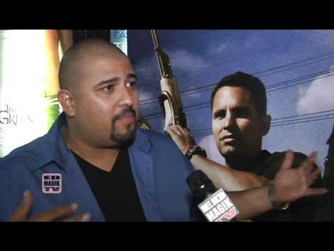 David Fernandez Jr. Interview at End of Watch (2012) Movie Meet and Greet