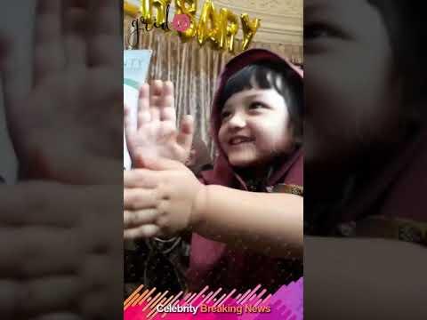 Aksi Gemas Arsy Addara Musicia Nurhemansyah di Perayaan 1 Tahun Bisnis Ashanty