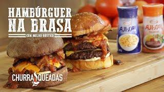 Baixar Hambúrguer na Brasa com Molho Rústico   Churrasqueadas