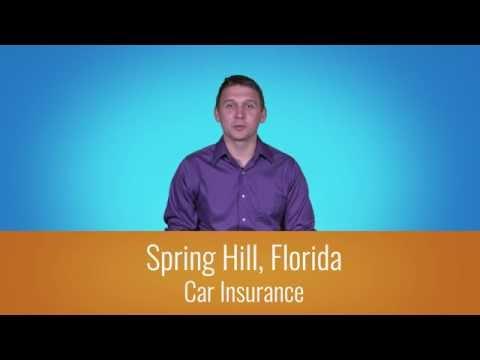 Car Insurance Spring Hill Fl - 1-800-998-0662