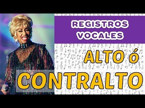 REGISTROS VOCALES - 3  CONTRALTO