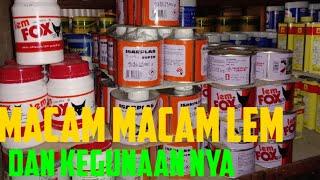 LEM FOX Kuning Kaleng 600 gram Merah Galon Kecil Kaleng Aica Aibon Serbaguna Bisa Untuk HPL Decosheet PVC Sheet Kulit Karet Busa Kayu Vinyl Karpet