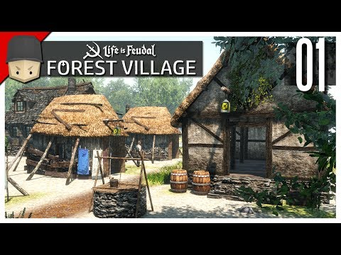 Life is Feudal Forest Village - Ep.01 : Better Than Banished?!