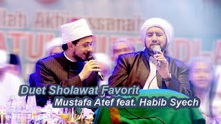 Video (HD) Duet Sholawat Favorit Mustafa Atef feat. Habib Syech - Lirboyo Bersholawat (Terbaru) download MP3, 3GP, MP4, WEBM, AVI, FLV Desember 2017
