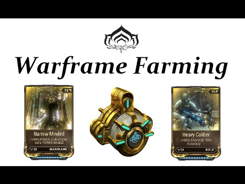 Warframe Farming - Corrupted Mods (How To : Vault Runs)