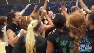 10/6 UWF Volleyball Highlights vs  Valdosta State