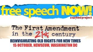 The first amendment in 21st century - part 1
