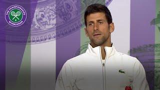 Novak Djokovic 'pretty close' to his best   Wimbledon 2018
