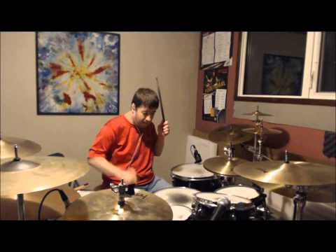 Led Zeppelin -  Candy Store rock -  drum cover
