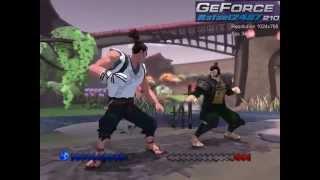 Karateka 2012 (GeForce 210 + E6550) PC Gameplay HD
