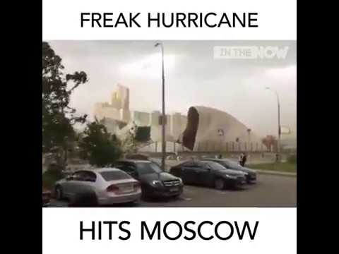 Extreme weather hit Moscow