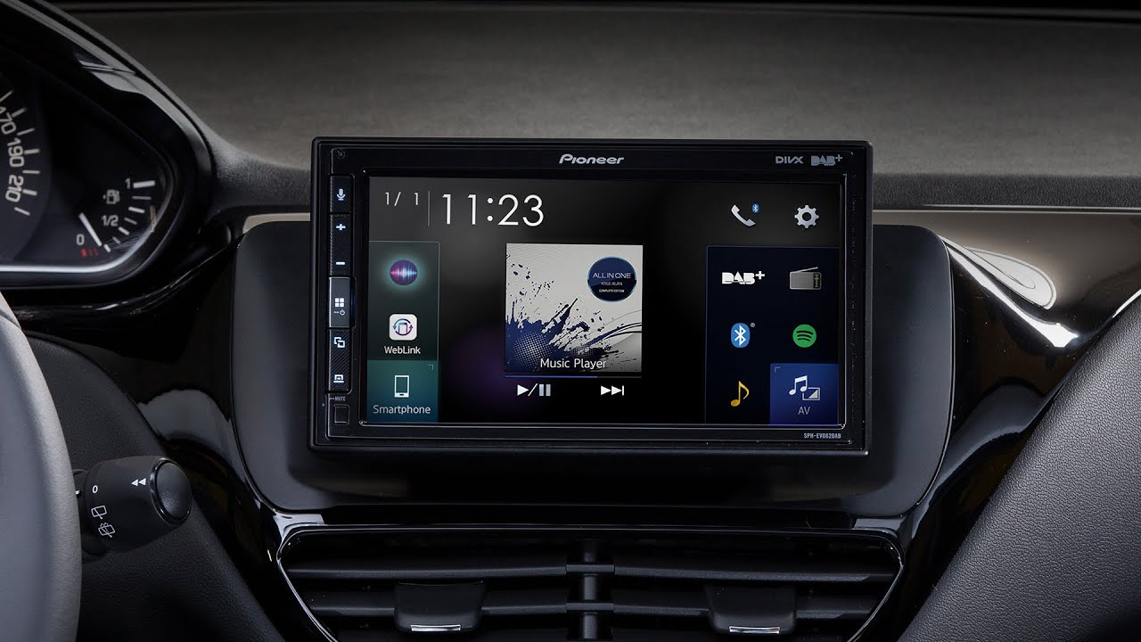 Pioneer Sph Evo62dab 208 X Peugeot 208 Timelapse Installation Youtube