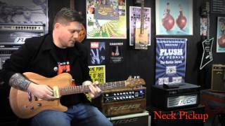 Born Custom Guitar played through a Fuchs ODS II by Jac Harrison.
