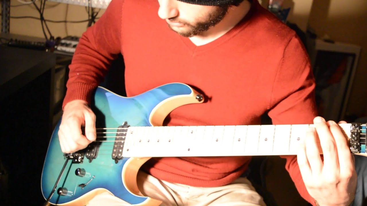 ibanez rg752ahm ngb demo youtube