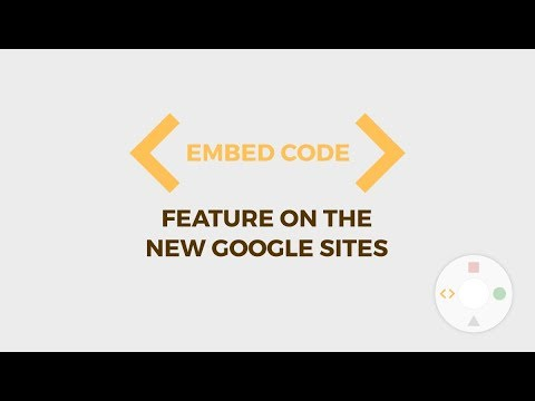 New Google Sites Gadgets Tour - Embed HTML, CSS, Javascript