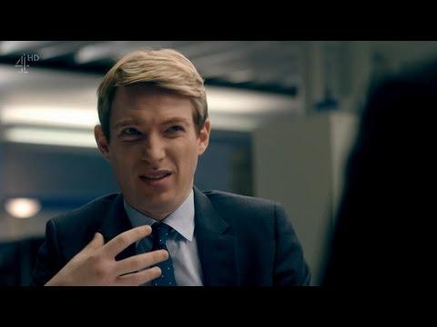 Domhnall Gleeson como Dan na série Catastrophe