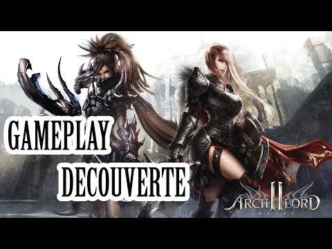 (Gameplay découverte) Archlord 2 (Jeu gratuit en français) (60FPS)