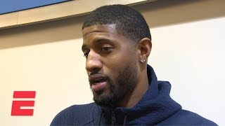 Paul George on game-winning floater vs Jazz Thank god it went in  NBA Sound