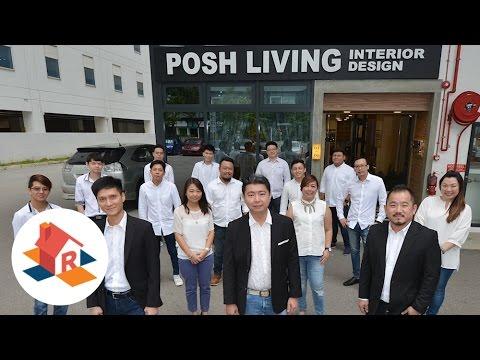 Posh Living Interior Design Pte Ltd - Designer Highlight 【HomeRenoGuru.sg】