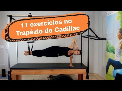 11 exercícios no trapézio do Cadillac