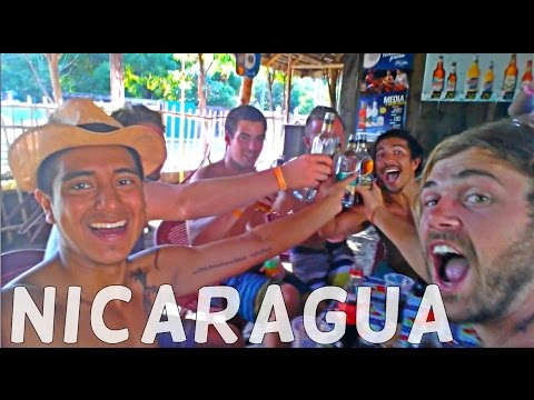 BEACH LIFE IN NICARAGUA (Meeting Friends and Beach Parties!)