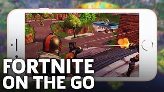 Fortnite Battle Royale - Full Mobile Match iOS Gameplay